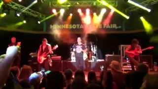Scott Stapp of Creed Live: Jesus Was a Rockstar (Minnesota State Fair - 8/25/14)