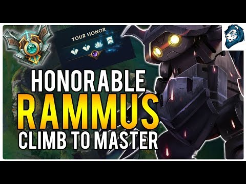 HONORABLE RAMMUS - Climb to Masters | League of Legends
