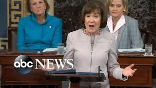 Sen. Lisa Murkowski breaks with GOP, votes 'no' on Kavanaugh