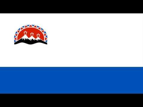 Flag of Kamchatka Krai  -  Russia