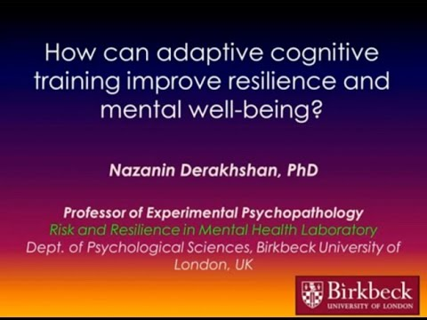 [Science Week 2016] How can adaptive cognitive training improve resilience and mental well-being?