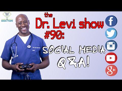 The Dr. Levi Show #90: Social Media Q & A Show | Medical Moment