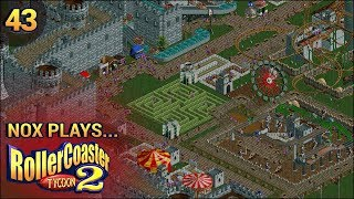 Nox Plays... Rollercoaster Tycoon 2: Time Twister | #43: Dark Age - Castle, Pt. 1