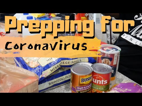 Prepping for Coronavirus   Are you prepared?   Stocking the Pantry