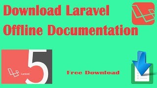 How to download Laravel 5.4 Offline Documentation as HTML