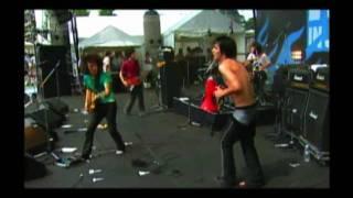 """銀杏BOYZ """"人間"""" ROCK IN JAPAN FESTIVAL 2004 LAKE STAGE 2004.8.7."""