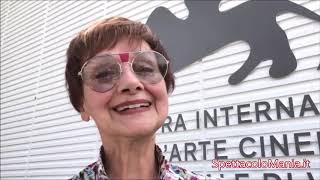 Milena Vukotic spettatrice doc a Venezia 76