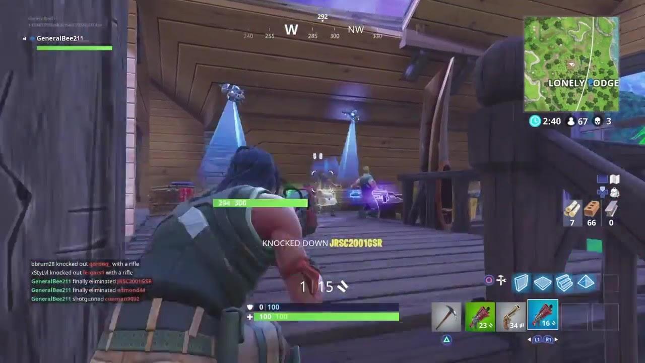 Fortnite clip- Epic! triple kill within seconds lol - YouTube