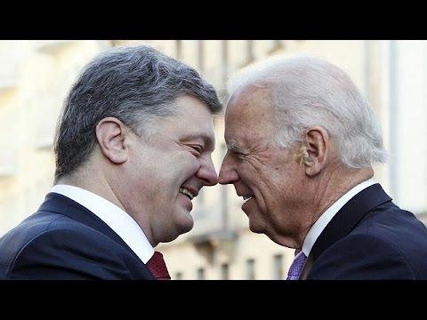"Joe Biden a Kiev: ""La Russia viola i principi internazionali"""
