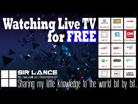 Watch International And Local TV Online For FREE!