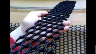 сетка пластиковая крупная ячейка(Подробнее смотрите здесь nik-tuning.com.ua., 2014-04-01T13:13:36.000Z)