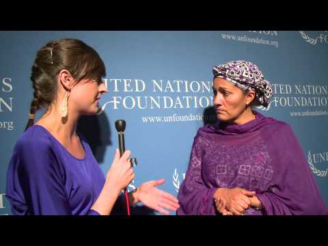 Ms. Amina J. Mohammed, Special Advisor of the Secretary-General on Post 2015 Development Planning
