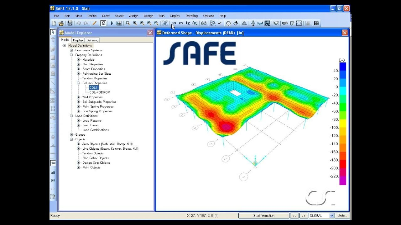 Concrete Slab and Foundation Design Software | SAFE
