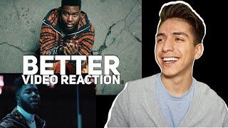 Khalid- Better (Music Video) E2 reacts