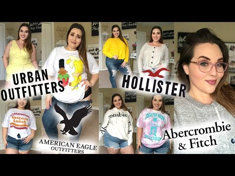 MALL HAUL: Hollister, Urban Outfitters, Abercrombie, New Glasses, & AEO | Sarah Rae Vargas