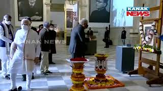 PM Modi Pays Tribute To Subhas Chandra Bose