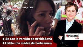 #AristeguiEnVivo 21-Sep: Se cae la versión de #FridaSofía,...