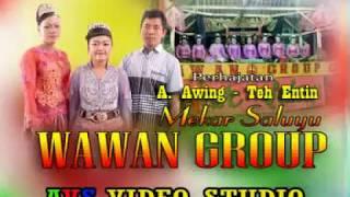GEBYAR JAIPONG, WAWAN GROUP bangbung hideung