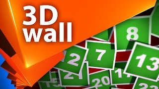 Создание 3D cлайд-шоу стена фотографий в After Effects - AEplug 144