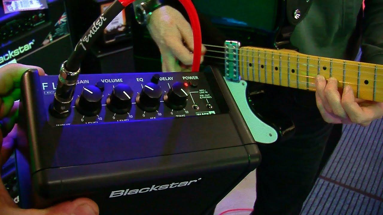 NEW Blackstar Fly Mini 3 Watt Guitar Amp Demo At PMT Portsmouth