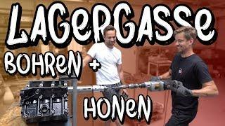 Lagergasse Bohren + Honen bei BP Motorentechnik! - Marius Audi S4 Motor Teil 2 | Philipp Kaess |