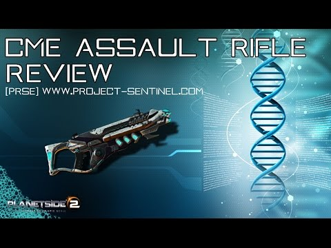 CME Assault Rifle - The Titan Review [Planetside 2] - Outdated