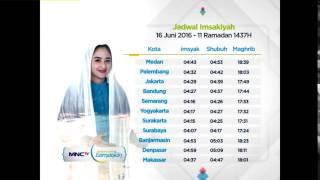 Dewi Persik  - Jadwal Imsak 16 Juni 2016