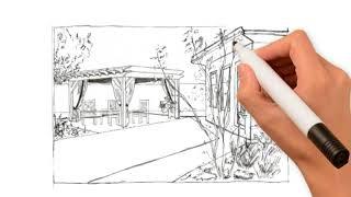 Ландшафтный дизайн от ЦВЕТного эскиза до ЦВЕТущего сада