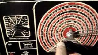 Triplett 1632 Signal Generator Modulation Test