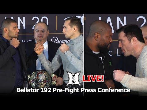 Bellator 192 Pre-Fight Presser With Rampage, Chael, Lima, MacDonald, Coker + More (LIVE!)