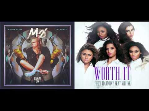 Fifth Harmony ft. Kid Ink vs Major Lazer & DJ Snake - Worth It To Lean On (Mashup)