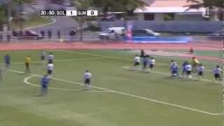 Solomon Islands 7-0 Guam/2011 Pacific Games