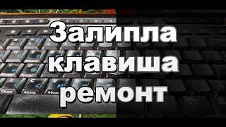 видео Как отремонтировать и вставить кнопки клавиатуры ноутбука HP