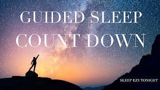 Guided Sleep Countdown ☯ Meditation for Anxiety and Sleep