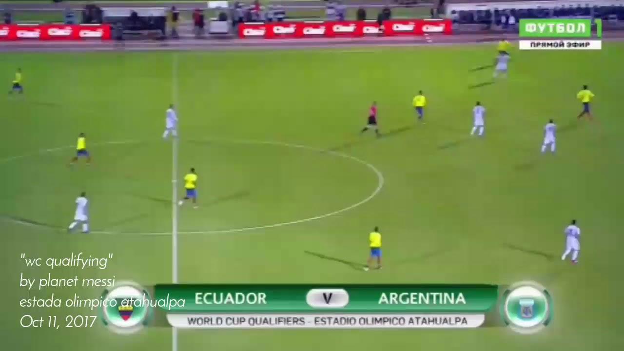 Download Lionel Messi vs Ecuador   insane hattrick   all goals and highlights  