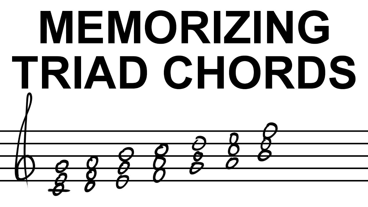 Memorizing triad chords how to music theory tutorial 04 youtube memorizing triad chords how to music theory tutorial 04 hexwebz Gallery