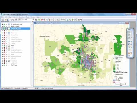 Maptitude 2017 Wizard: Sales Mapping, ZIP Code Mapping, Heat Mapping, Geocoding