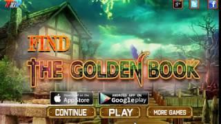 Find the golden book Walkthrough