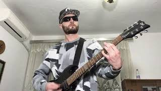 DNAD - Destroy Failure - Thrash Metal Punk Hard Core Guitar Freestyle (Music Video)
