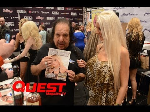 Quest Magazine interviews Ron Jeremy at AVN