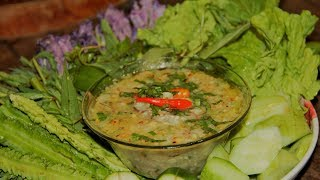 របៀបធ្វើ ទឹកគ្រឿងបន្លែស្រស់ | Cambodia Foods | Asia Foods - មេផ្ទះ (Housewife)