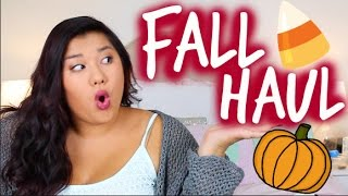 HUGE FALL HAUL | Brandy Melville, Topshop, Forever 21 & More!