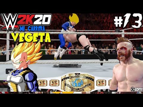 "WWE 2K16: ""VEGETA SSJ Mata a SHEAMUS"" (WWE Intercontinental Championship) - Parte 13"