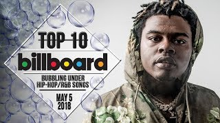 Baixar Top 10 • US Bubbling Under Hip-Hop/R&B Songs • May 5, 2018 | Billboard-Charts