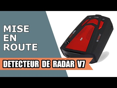 d tecteur de radar v7 youtube. Black Bedroom Furniture Sets. Home Design Ideas