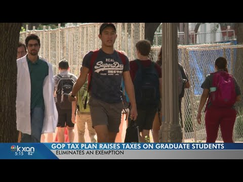 Texas graduate students to get tax increase in House GOP tax reform