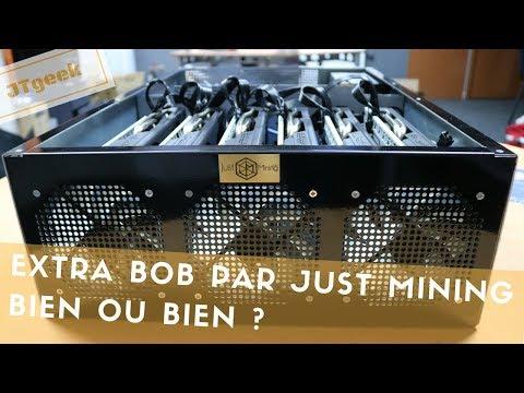 Machine à miner Extra BOB de Hasheur par just mining, faut il l'acheter ?