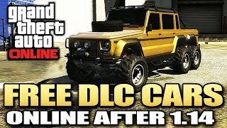 GTA 5 Glitches - Free DLC Cars After Patch 1.14 *EASIEST METHOD* (GTA 5 Glitches)