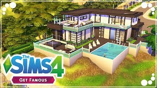 CELEBRITY PARTY PAD 🌟 (GET FAMOUS)   The Sims 4   Speed Build