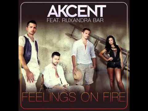 Akcent feat Ruxandra Bar - Feelings On Fire (Dj Xia mix)